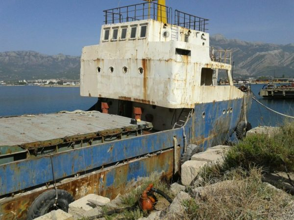 Sanation of ship Adal